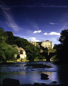Richmond Castle, North Yorkshire, England, built in 1086