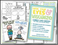 Common Core Aligned Visualizing Packet: Perfect for new teachers and/or new teachers to the Common Core!