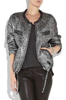 Love this jacket! Throw it on with a pair of leather pants!