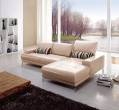 Exclusive Genuine Leather Sectional