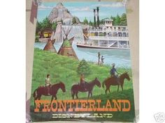 Frontier Land not what i wanted to pin but I can't find the Disney vintage game I had with this same name.