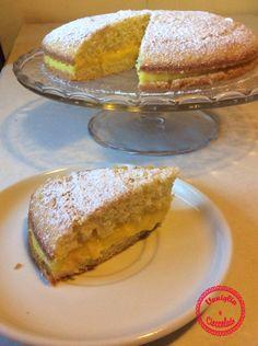 Torta all'arancia senza latte - Cake dairy free