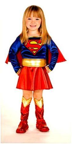 Super DC Heroes Supergirl Toddler Costume