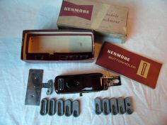 Vintage Sears Kenmore Sewing Machine Buttonhole Attachment No. 607.06 In Box…