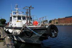 #Boat at #Liepāja channel