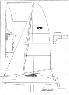 Delaveau Multihull Design  Interesting for its simple asymmetric hull design & construction.