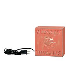 Take a look at this 'Sunset Dreams' Light Box Night-Light by Primitives by Kathy on #zulily today!