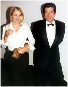 """March 9, 1999: John and Carolyn Kennedy attend """"Brite Nite Whitney"""" at the Whitney, a benefit in aid of the Upper East Side museum."""