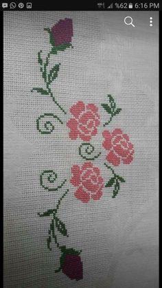 Cross Stitch Flowers, Cross Stitch Patterns, Prayer Rug, Crewel Embroidery, Christmas Cross, S Models, Rugs, Crochet, Floral