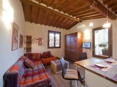 Romantic nest hidden among florentine rooftops