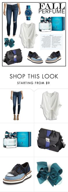 """""""Parfume 1"""" by andy-eded on Polyvore featuring AG Adriano Goldschmied, Chicwish, Tommy Hilfiger, Givenchy and Lacoste"""
