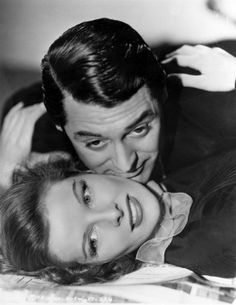Still of Cary Grant and Katharine Hepburn in Holiday (1938)