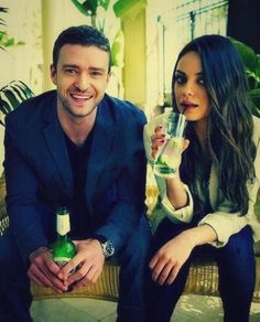 Justin Timberlake & Mila Kunis