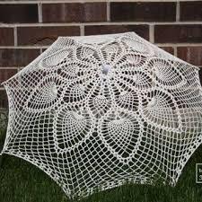 ผลการค้นหารูปภาพสำหรับ crochet umbrella