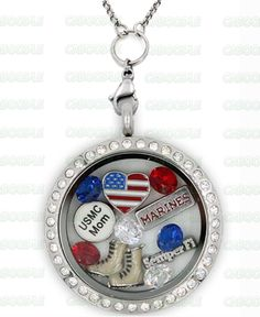 Perfect Locket For Marine Mom's! Not Sold In Stores! Military Mom, Army Mom, Military Crafts, Marine Mom, Marine Corps, Marine Cake, Marines Boot Camp, Marine Quotes, Air Force Mom