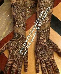 Browse the latest Mehndi Designs Ideas and images for brides online on HappyShappy! We have huge collection of Mehandi Designs for hands and legs, find and save your favorite Mehendi Design images. Rajasthani Mehndi Designs, Dulhan Mehndi Designs, Latest Mehndi Designs, Bridal Mehndi Designs, Bridal Henna, Mehandi Designs, Wedding Mehndi, Punjabi Wedding, Indian Bridal