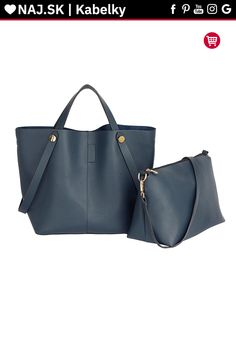 Trendy kabelka Netty námornícka AG00198 Shopper Bag, Tote Bag, Anna Grace, David Jones, Zara, Shoulder, London, Shoes, Fashion