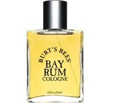 Burt's Bees Bay Rum Cologne 2.0 oz by Burt's Bees. $59.95. All-natural blend of essential oils. West Indian herbs and spices. Rich, warm and woody notes. Not tested on animals. The mellow harmonies of West Indian herbs and spices create an exotic allure and attractive ambiance sure to please the most discerning gentleman and his admirers.  Burt's all-natural blend of essential oils contains rich, warm and woody notes that synthetic fragrances can never imitate.