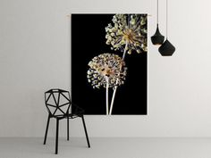 Wandkleed Allium flower bulb - Kleedup Happy June, Bulb Flowers, Allium, Print Poster, Grass, Sweet Home, Tapestry, Indoor, Interior Design