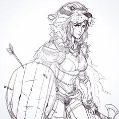 Pencil Art LS from today warrior with a tiger mask Character Design Cartoon, Fantasy Character Design, Character Drawing, Character Design Inspiration, Character Concept, Concept Art, Drawing Sketches, Art Drawings, Comic Drawing