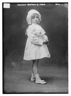 Infanta Beatriz of Spain as a small child, ca. 1912. Source: Library of Congress