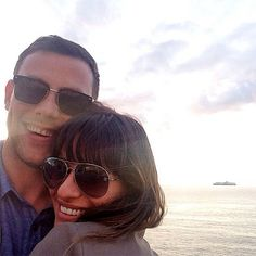 Lea Michele and Cory Monteith. This picture is so perfect. ❤️