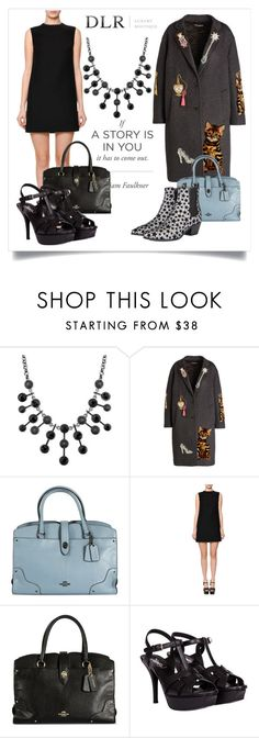 """""""DLRBOUTIQUE.COM"""" by mahafromkailash on Polyvore featuring мода, 2028, Dolce&Gabbana, Coach, Valentino, Yves Saint Laurent и dlrboutique"""