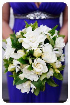 Gorgeous gardenia bouquet:-www.sheridannilssonphotography.com.au