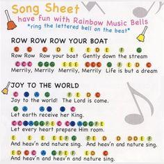 Resultado de imagen de preschool handbell music