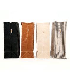Lunch Bag / / ciré toile sac à Lunch / Déjeuner sacs / / Canvas sac à Lunch