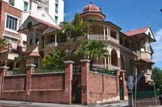 The Green House, part of the United Services Club along with the building next door, Montpelier (Your Brisbane: Past and Present)