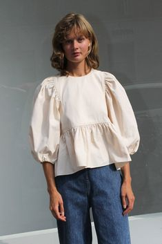 Peplum, Ruffle Blouse, Slow Fashion, I Dress, Bell Sleeve Top, Neckline, Sleeves, Clothes, Tops