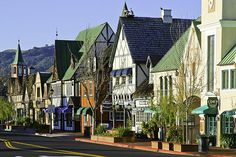 I love this cute little Danish town called Solvang, nestled outside of Santa Barbara. Los Olivos is a neighboring city where you can go wine tasting and just enjoy all the beauty around you.