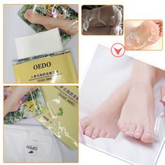 Ginseng Extract Remove Dead Foot Mask Foot Care Peeling Exfoliating Skin Care Whitening Beauty Feet Care Tenderfoot Membrane