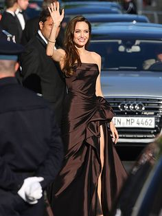 Cannes Film Festival premiere of The Tree of Life, Angelina Jolie