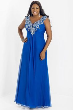 2014 Graceful Prom Dress V Neck Off The Shoulder Chiffon Floor Length Beaded&Ruffled USD 139.99 BAP5RR2AP1 - BallProm.com