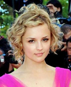 Short Cuts for Curly Hair | 2013 Short Haircut for Women