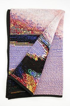 Phillip Stearns — Fall Knit Glitch Blankets | Glitch Textiles