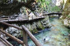 Vintgar Gorge na Eslovênia - Uma trilha LINDA perto de Bled