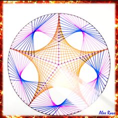 3d Art Drawing, Art Drawings Sketches Simple, Pencil Art Drawings, Easy Drawings, Illusion Drawings, Illusion Art, String Wall Art, Mandala Art Lesson, Doodle Art Designs