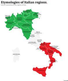 Etymology of Italy