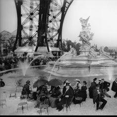 Bassin de la tour Eiffel - Exposition universelle de 1889 - GoogleCulturalInstitute
