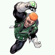 Guy Gardner in Hal Jordan and the Green Lantern Corps #2