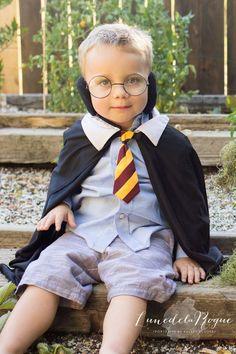 Pais pottermaníacos transformam filhos no Harry Potter e em uma mandrágora