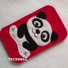Panda  etui na telefon