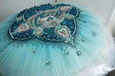 Corsaire heavy embellishment. So pretty combination of colours.