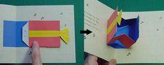 手作り絵本作り方教室 飛び出す絵本とカード バースデーカード プレゼントボックス