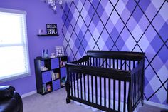 cassiday's room - argyle wall