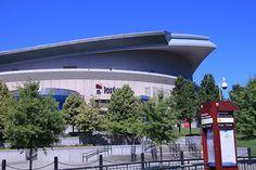 The Rose Garden arena, Portland OR - GO BLAZERS!