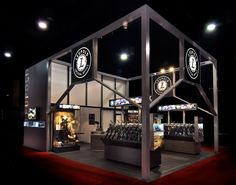 Leupold Stevens  Designed for Pinnacle Exhibits.  A 20' x 30' exhibit for Shot Show in Las Vegas. Designed for an industry low on extraneous styling, Leupold agreed to simple, strong architecture without nonsense. The culture of firearm design is purposeful. We felt the environment should speak this language.